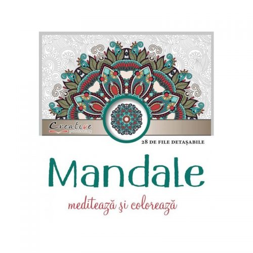 Mandale: mediteaza si coloreaza (carti de colorat pentru adulti)