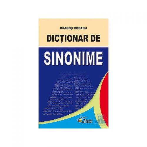 Dictionar de sinonime (ed. tiparita) | Prof. Dragos Mocanu