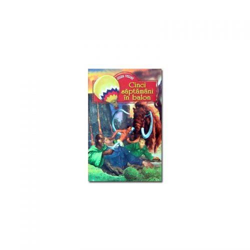Jules Verne: Cinci saptamani in balon (ed. tiparita)