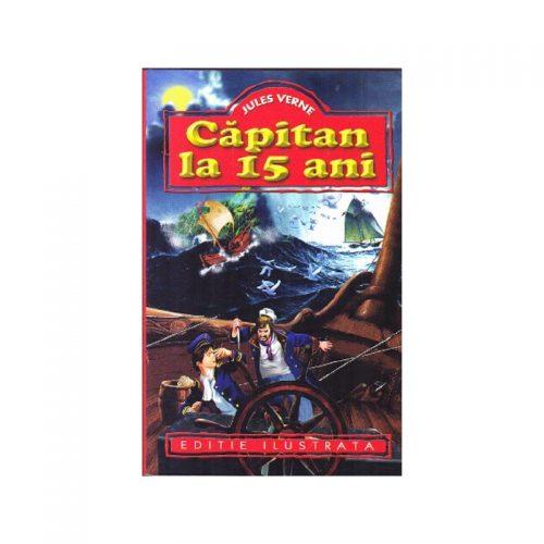 Jules Verne: Capitan la 15 ani (ed. tiparita)