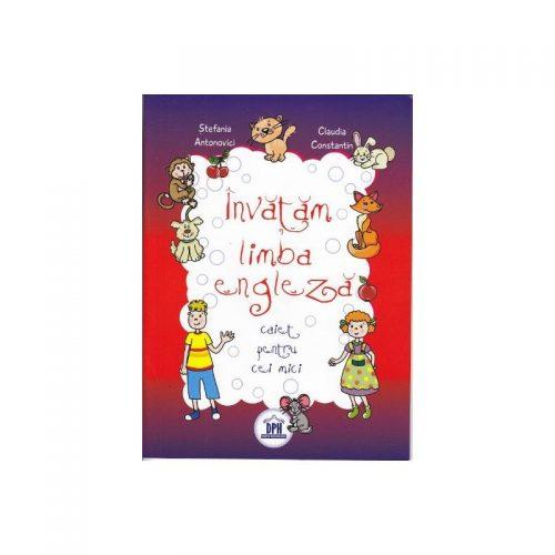 Invatam limba engleza: caiet pentru cei mici (ed. tiparita)