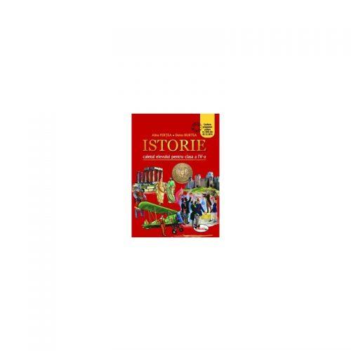 Manual de Istorie clasa a IV-a - caietul elevului / Pertea