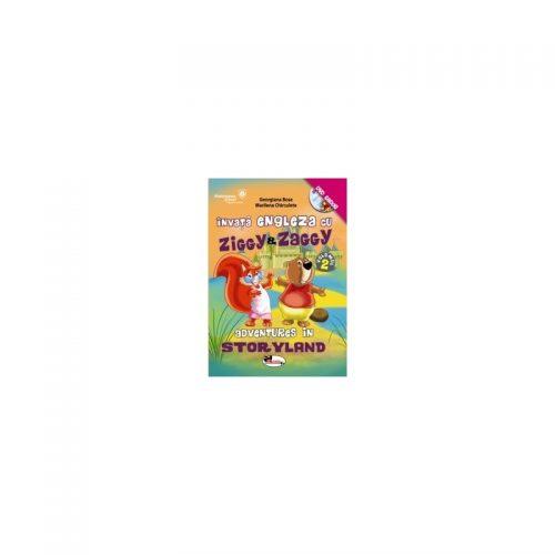 Invata engleza cu Ziggy&Zaggy. Adventures in Storyland, vol. 2 (contine DVD)