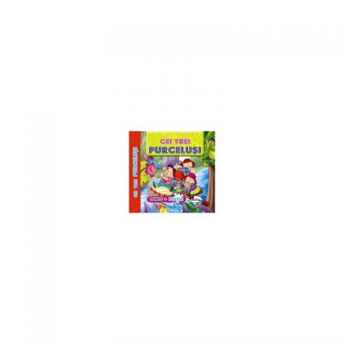 Povesti cu Puzzle - Cei trei purcelusi