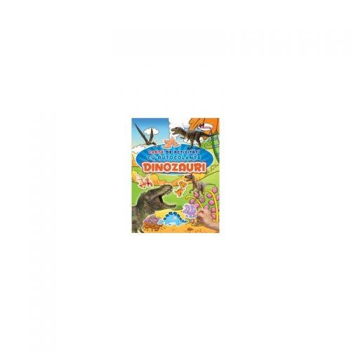 Carte de activitati cu autocolante - Dinozauri