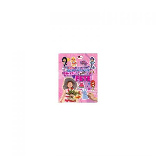 Carte de activitati cu autocolante pentru fete