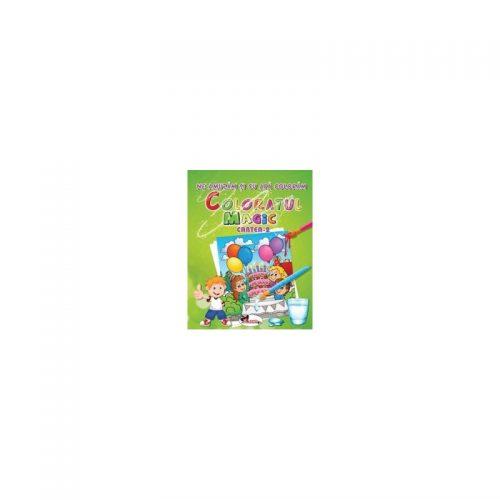 Ne amuzam si cu apa coloram - Coloratul magic - cartea 2