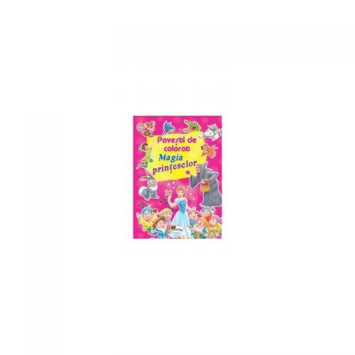 Magia printeselor - Povesti de colorat