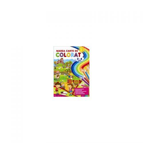Marea carte de colorat - 3-4 ani