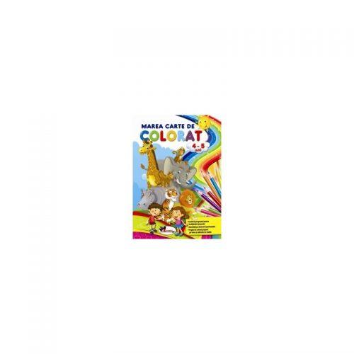 Marea carte de colorat 4-5 ani