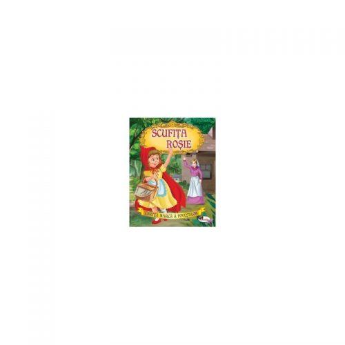 Scufita Rosie (adaptare pentru copiii de 3-8 ani)