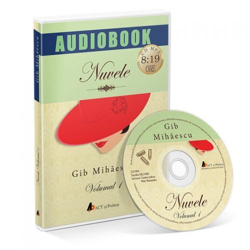 Nuvele. Volumul 1 (audiobook, CD mp3)