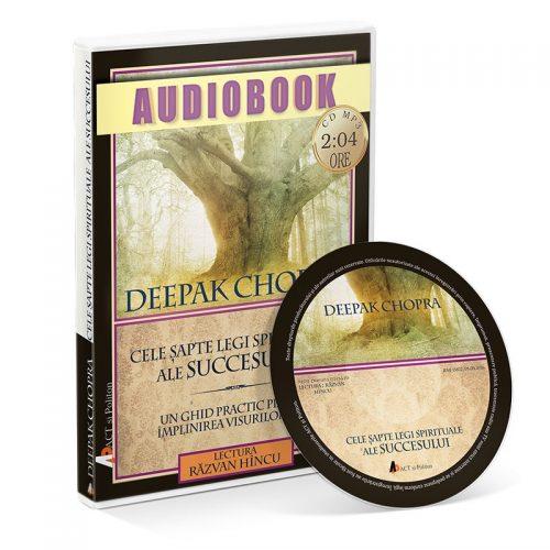 Cele sapte legi spirituale ale succesului (audiobook, CD mp3)