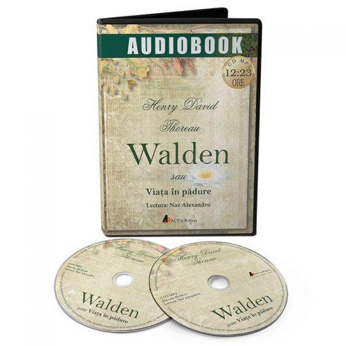 Walden sau Viata in padure (audiobook, CD mp3)