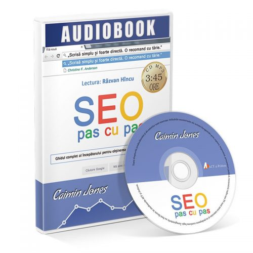 SEO pas cu pas (audiobook, CD mp3)