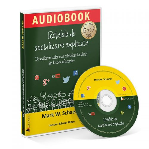Retelele de socializare explicate (audiobook, CD mp3)