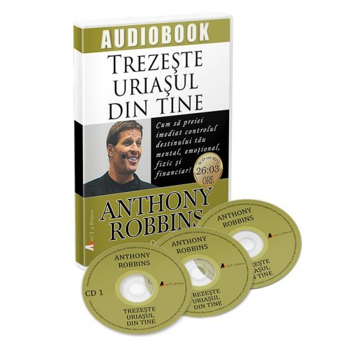 Trezeste uriasul din tine (audiobook, CD mp3)
