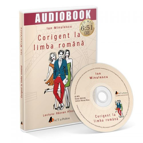 Corigent la limba romana (audiobook, CD mp3)