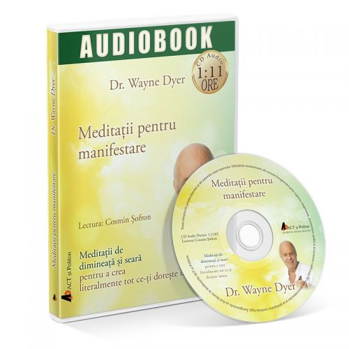 Meditatii pentru manifestare (audiobook, CD mp3)